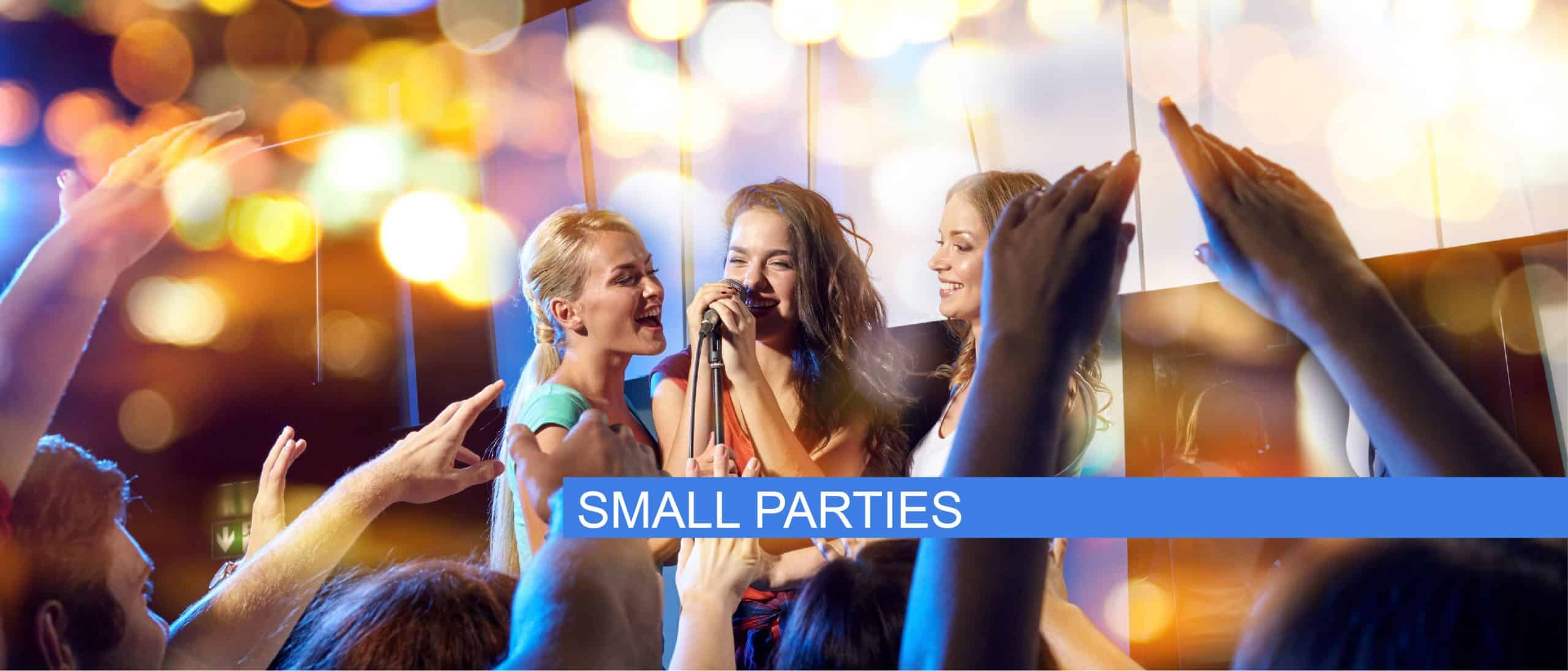 small karaoke parties edmonton